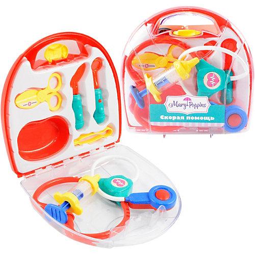 """Игровой набор Mary Poppins """"Скорая помощь"""", 7 предметов, красный от Mary Poppins"""