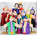 """Кукольный театр Жирафики """"Белоснежка"""", 11 персонажей"""