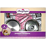 Игровой набор посуды для готовки Mary Poppins, 6 предметов