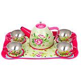 "Набор посуды Mary Poppins Five o'clock сервиз ""Розовый сад"", 11 предметов"