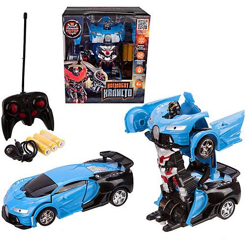 """Машина-робот Пламенный мотор """"Космобот Калисто"""", синяя от Пламенный мотор"""