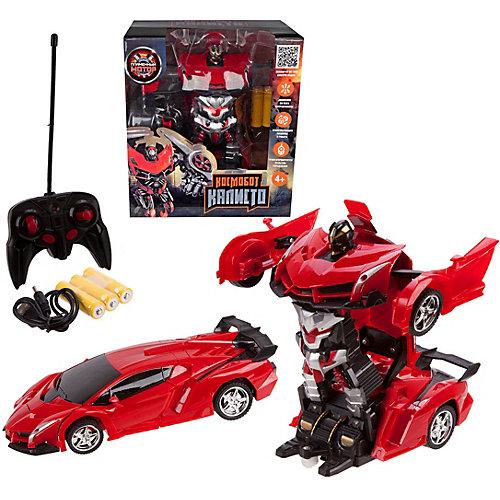 """Машина-робот Пламенный мотор """"Космобот Калисто"""", красная от Пламенный мотор"""