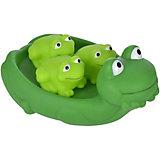"""Игрушка для ванны Жирафики """"Мама лягушка и лягушата"""""""