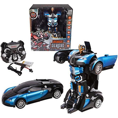 """Машина-робот Пламенный мотор """"Космобот Осирис"""", на р/у, сине-черный от Пламенный мотор"""
