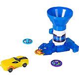 Игровой набор Дикие Скричеры Бластер для дисков синий, машинка