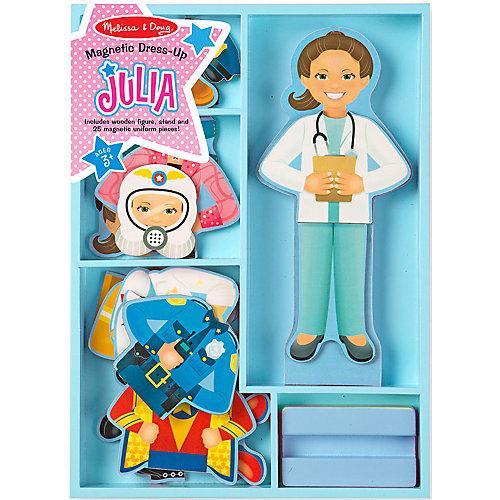 """Магнитный игровой набор Melissa & Doug """"Одень Джулию"""", 24 элемента от Melissa & Doug"""