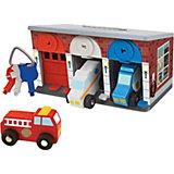 Гараж со спасательными машинами Melissa & Doug