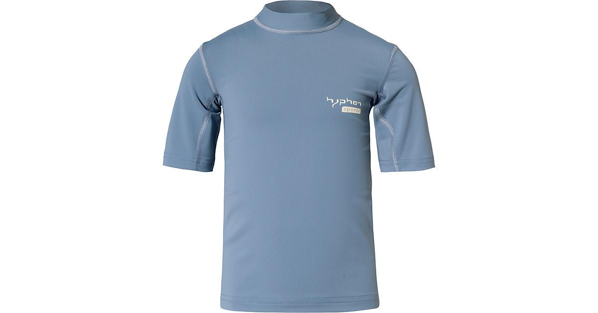 hyphen · Schwimmshirt mit UV-Schutz Jungen Gr. 116/122 Kinder