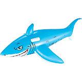 Игрушка для катания верхом Bestway, Большая белая акула