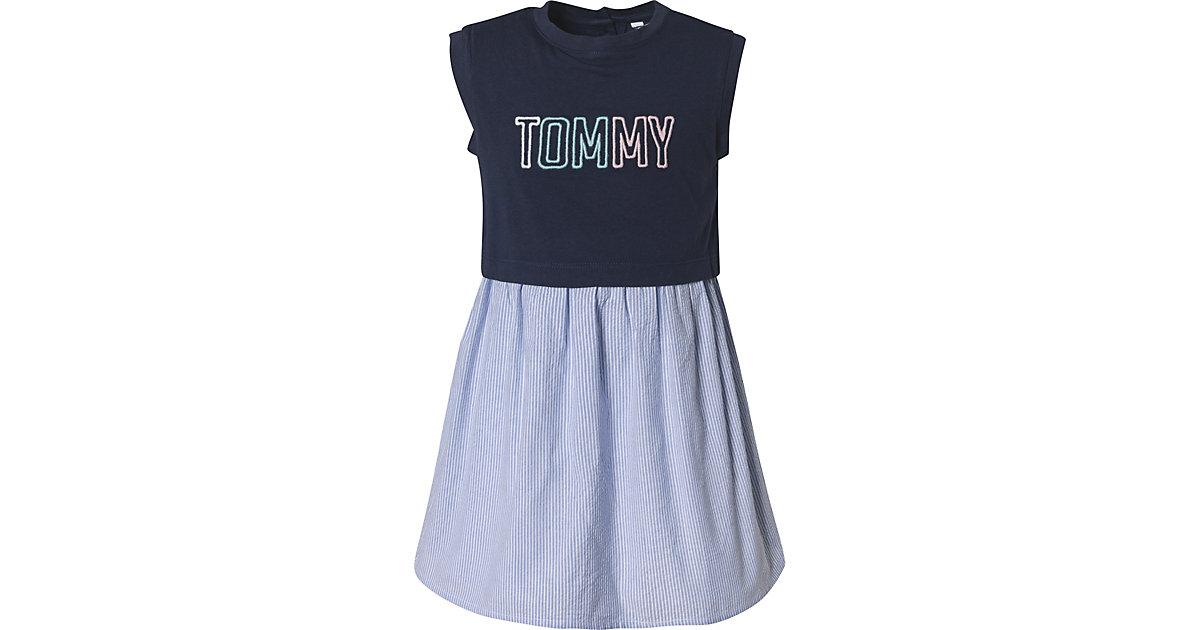 Tommy Hilfiger · Kinder Kleid Gr. 110 Mädchen Kinder