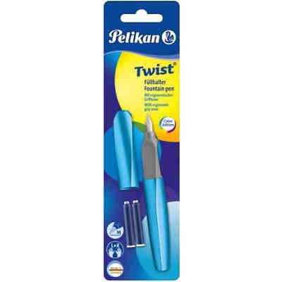 Füllhalter Twist Spearmint Feder M Inkl 2 Patronen Pelikan Mytoys