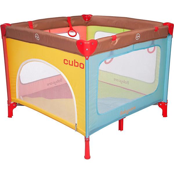 Манеж Baby Care Cubo, разноцветный