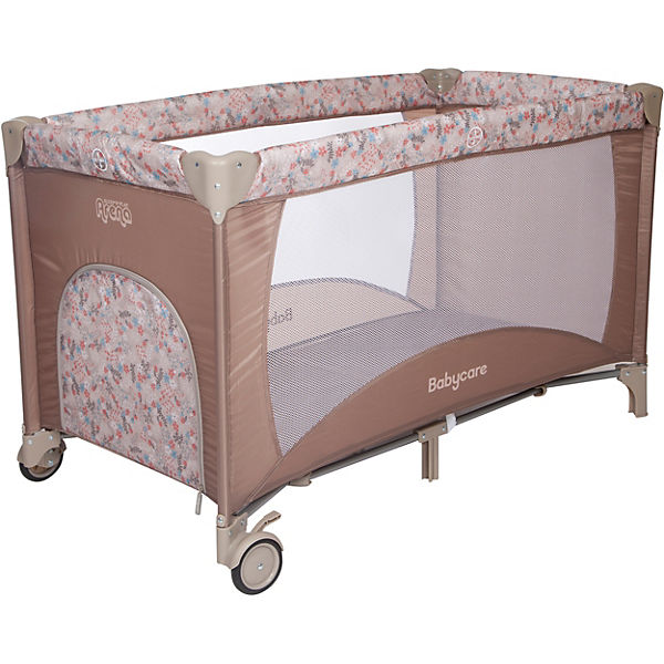 Манеж Baby Care Arena, коричневый