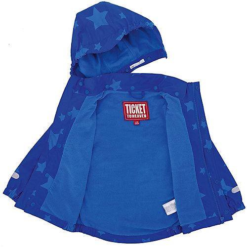 Комплект Ticket To Heaven: куртка и полукомбинезон - синий от TICKET TO HEAVEN