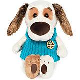 Мягкая игрушка Budi Basa Собака Бартоломей Baby в жилете, 19 см