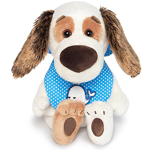 Мягкая игрушка Budi Basa Собака Бартоломей Baby в слюнявчике, 19 см от Budi Basa