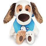 Мягкая игрушка Budi Basa Собака Бартоломей Baby в слюнявчике, 19 см
