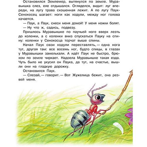 """Сборник сказок """"Приключения муравьишки"""", В.В. Бианки от Издательство АСТ"""