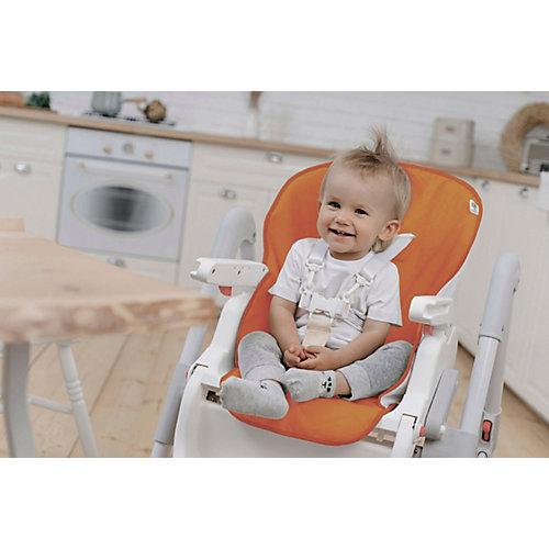 Универсальный чехол для детского стульчика, оранжевый от Roxy-Kids