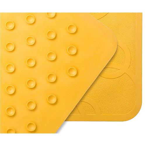 Антискользящий резиновый коврик для ванны Roxy-Kids, жёлтый - желтый от Roxy-Kids