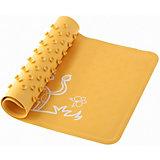 Антискользящий резиновый коврик для ванны Roxy-Kids, жёлтый