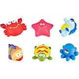 Набор игрушек для ванной Roxy-Kids Морские жители