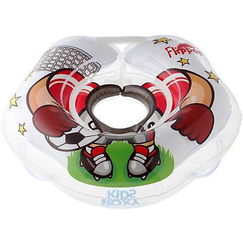 Надувной круг на шею для купания Roxy-Kids Flipper Футболист. от Roxy-Kids