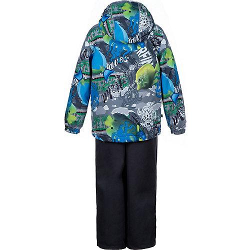 Комплект Huppa Yonne : куртка и полукомбинезон - сине-серый от Huppa