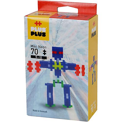 Конструктор Plus Plus разноцветный для создания 3D моделей «Робот», 70 деталей от Plus Plus