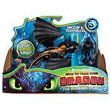 Игровой набор Spin Master Dragons, дракон и фигурка викинга