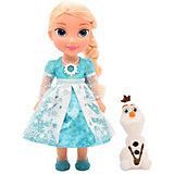 """Интерактивная кукла Disney """"Холодное Cердце: Эльза и Олаф"""", 35 см"""