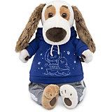 Мягкая игрушка Budi Basa Собака Бартоломей в спортивном костюме, 27см