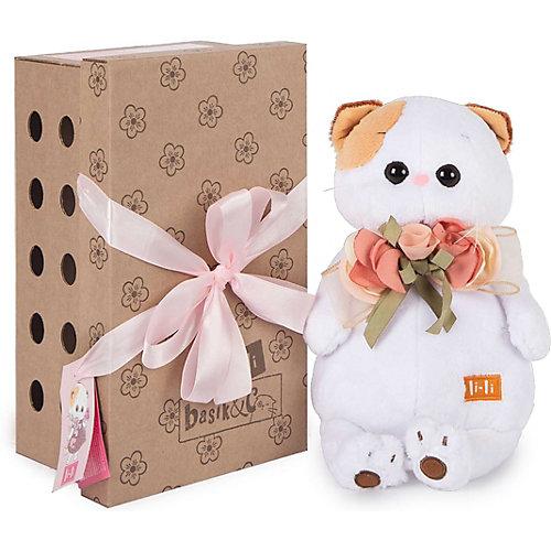 Мягкая игрушка Budi Basa Кошечка Ли-Ли с букетом, 24 см от Budi Basa