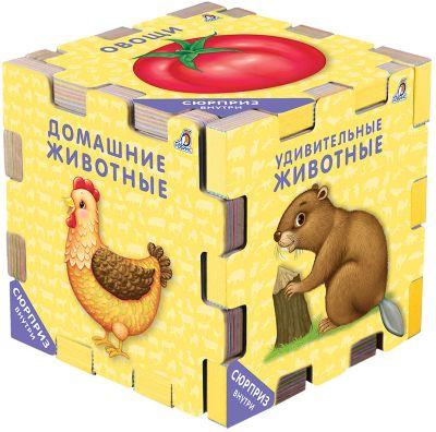 """Книжный конструктор Робинс """"Для самых маленьких"""""""
