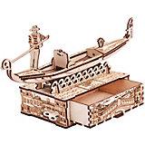 "Механический 3D-пазл из дерева Wood Trick Шкатулка ""Гондола"""