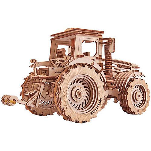 Механический 3D-пазл из дерева Wood Trick Трактор от Wood Trick
