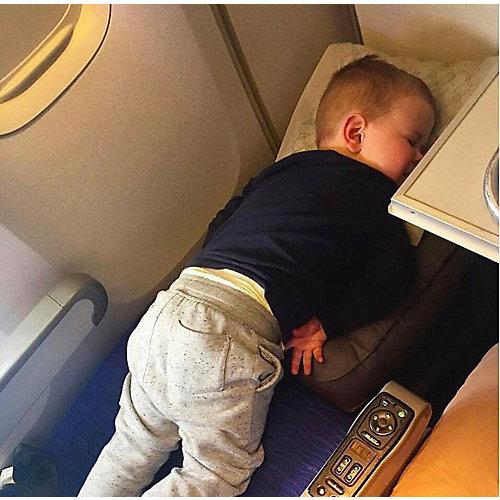 Подушка-кроватка для путешествий PLANE KIDS, черный от Plane Kids