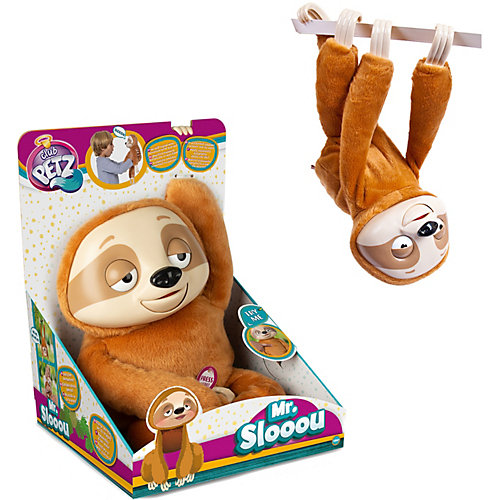 "Интерактивная игрушка IMC Toys Club Petz Funny ""Ленивец"" Mr Slooou от IMC Toys"