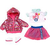 Одежда для куклы Zapf Creation Baby born Наряд для прогулки по городу