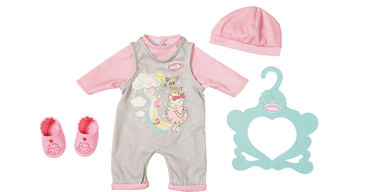 Baby Annabell® Süßes Baby Outfit 43 cm rosa