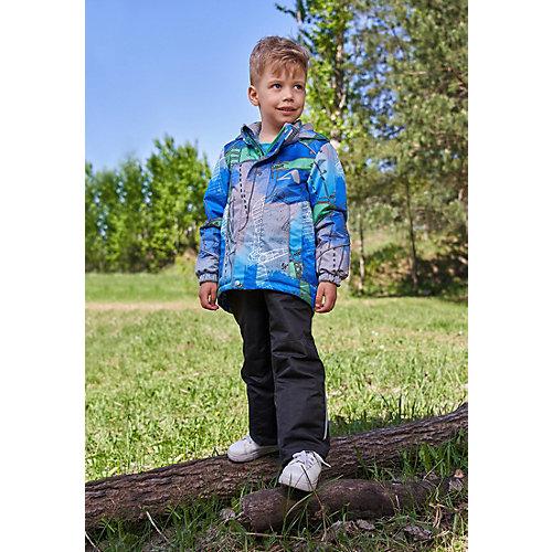 Комплект OLDOS ACTIVE: демисезонная куртка и полукомбинезон - синий от OLDOS