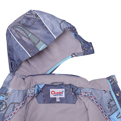 Комплект OLDOS ACTIVE: демисезонная куртка и полукомбинезон - серый от OLDOS