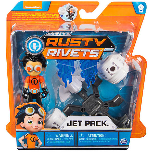 Малый строительный набор Spin Master Rusty Rivets Jet Pack