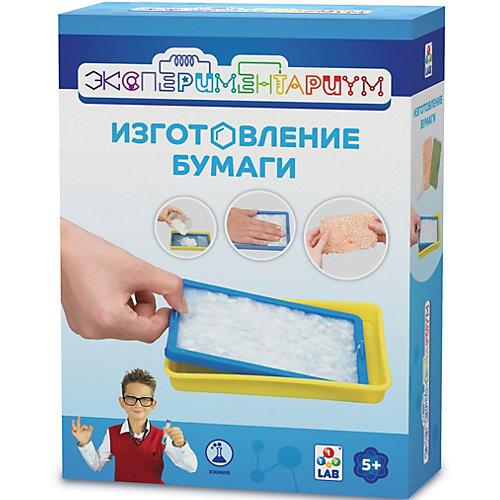"""Набор Экспериментариум """"Изготовление бумаги"""" от 1Toy"""