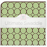 Фланелевая пеленка SwaddleDesigns Lime, 110х110 см
