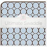 Фланелевая пеленка SwaddleDesigns Blue, 110х110 см