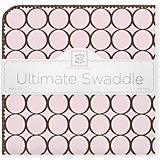 Фланелевая пеленка SwaddleDesigns Pink, 110х110 см