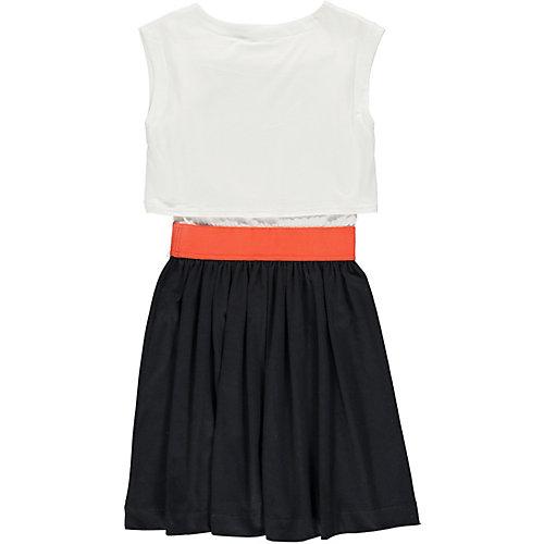 Платье MEK - черный/белый