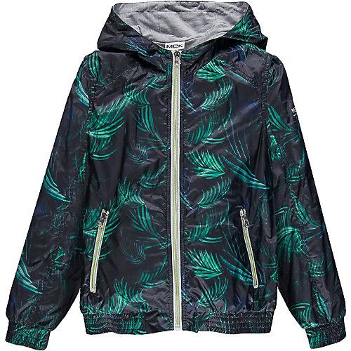Ветровка MEK - синий/зеленый
