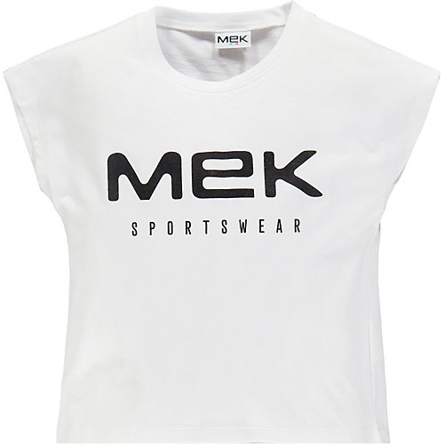 Футболка MEK, 2 штуки - черный/белый
